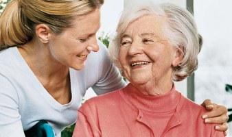 Сиделка для пожилого человека