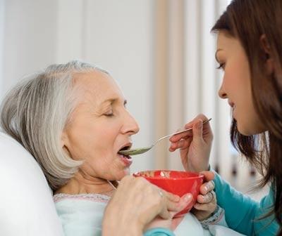 Уход за больными Альцгеймером?
