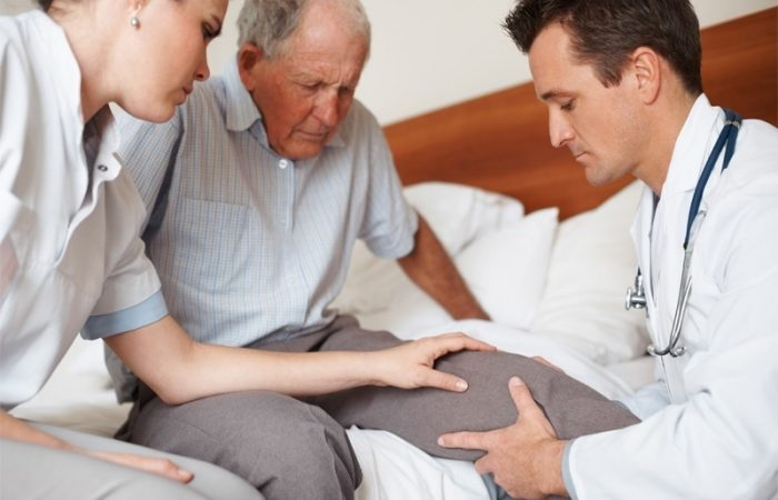 Уход с заболеванием суставов